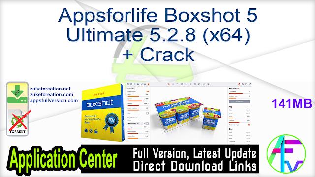 Appsforlife Boxshot 5 Ultimate 5.2.8 (x64) + Crack