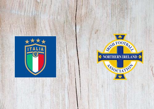 Italy vs Northern Ireland -Highlights 25 March 2021
