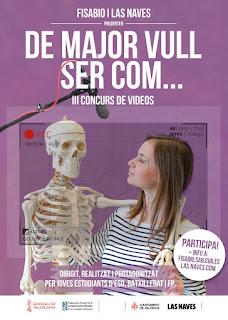 Las Naves y Fisabio premiarán con 16.000 euros los videos que visibilicen a la mujer en la ciencia