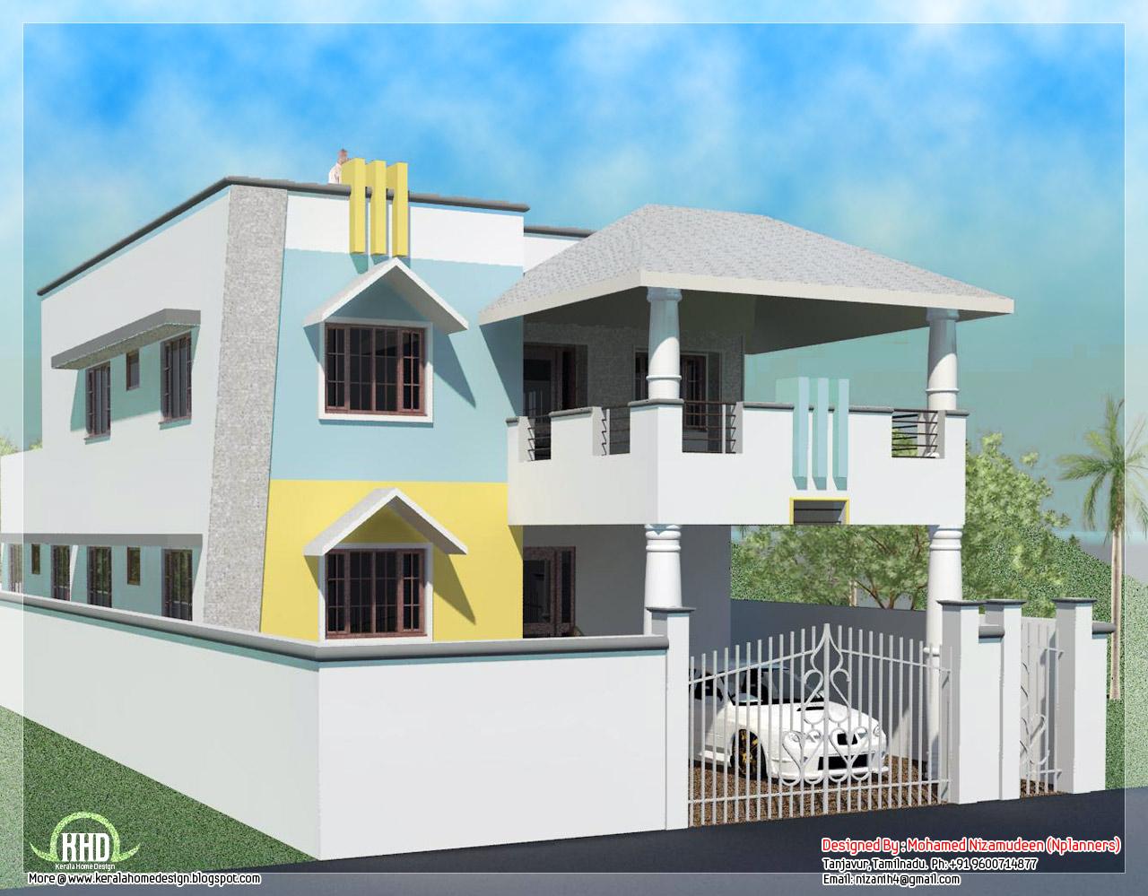 Modern house plans in tamilnadu
