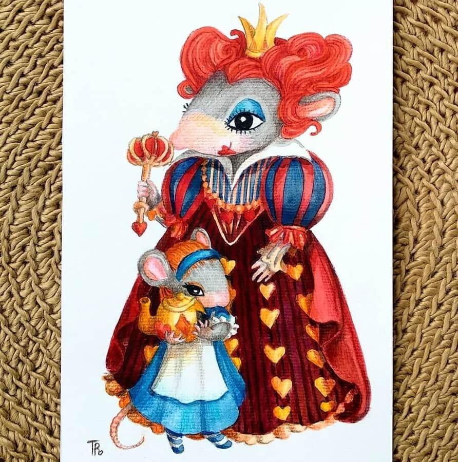 08-Alice-in-Wonderland-Queen-of-Hearts-Tatyana-Romanova-www-designstack-co