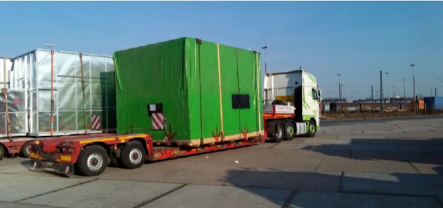 Vehicles for project cargo transportation
