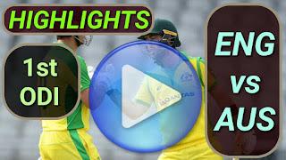 ENG vs AUS 1st ODI 2020