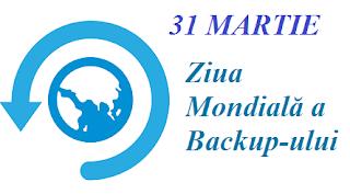 31 martie: Ziua Mondială a Backup-ului / Copiilor de rezervă digitale