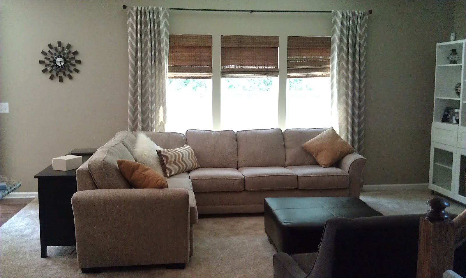 Younger Sofa James Crate And Barrel Full Sleeper Building Our Joyce With Ryan Homes Family Room