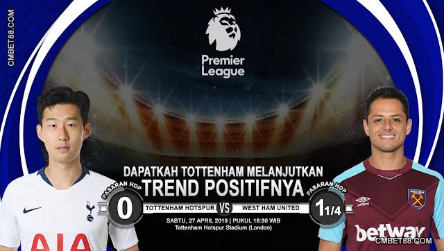 Prediksi Bola Tottenham Hotspur VS West Ham United