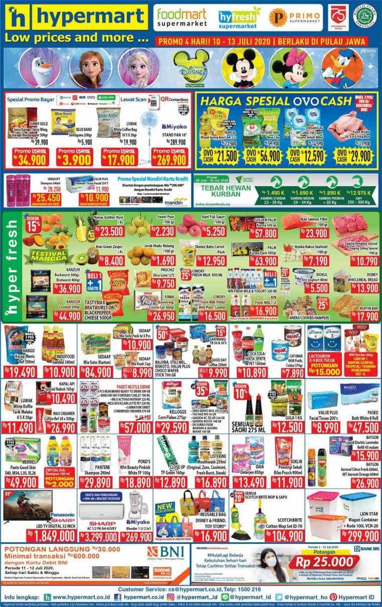 Katalog Promo JSM Hypermart Weekend 10 - 13 Juli 2020