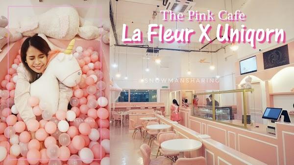 [Theme Cafe] La Fleur X Uniqorn Cafe at Sunway Geo Avenue