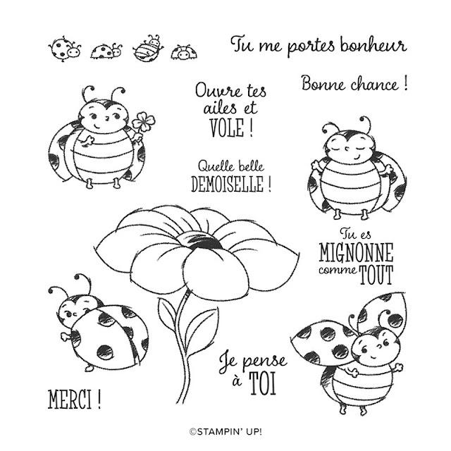 Jeu d'hôtesse Petite coccinelle, un beau cadeau pendant Sale-a-bration!