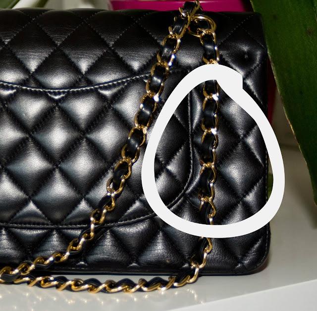 łańcuszek od torebki Chanel Flap model 2.55