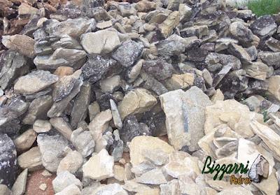 Chapa de pedra moledo para piso de pedra com espessura de 7 cm a 15 cm.