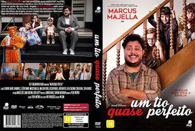 Filme Um Tio Quase Perfeito DVD Capa