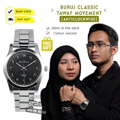 Jam Tangan Anticlockwise Buruj Tawaf Classic