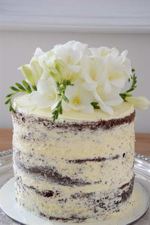 how to make a naked wedding cake caroline a world of inspiration my attempt at 15824