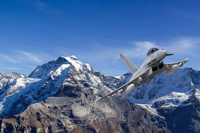 Airbus, Germany submit Eurofighter offer to Switzerland