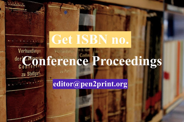 How to Get ISBN no. for Conference Proceedings