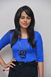 Actress Nandita Swetha Stills in Black Mini Skirt at Ekkadiki Potavu Chinnavada Movie Special Show  0012.JPG