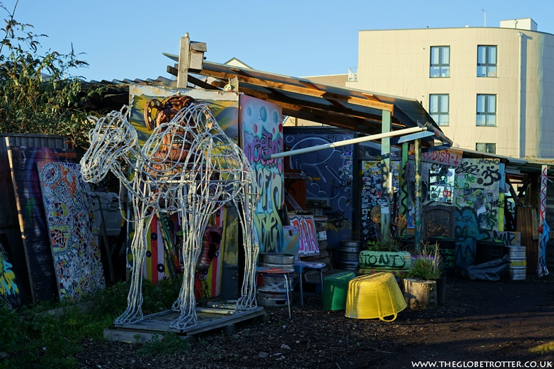 Nomadic Community Garden in London