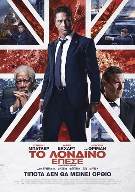 London Has Fallen (2016) ταινιες online seires oipeirates greek subs