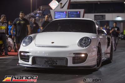 World's first 7 seconds Porsche - Ekanoo Racing