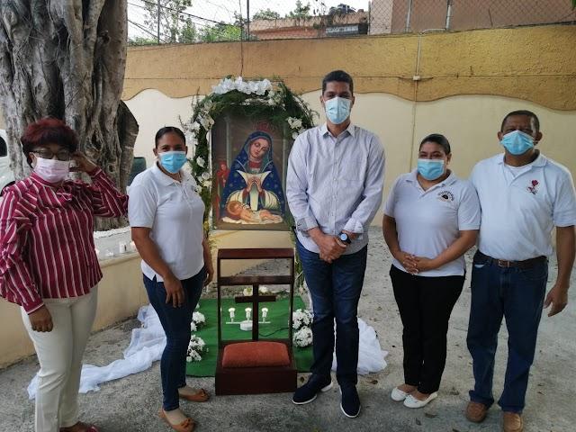 Subdirector de la OMSA Rafael García asiste misa de celebración Día de la Altagracia