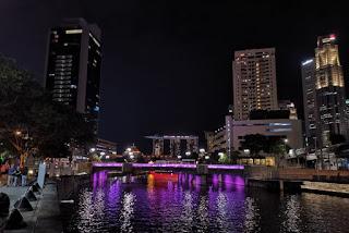 Clarke Quay, Singapur, Singapore.