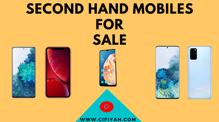 second hand mobiles for sale on cifiyah.com