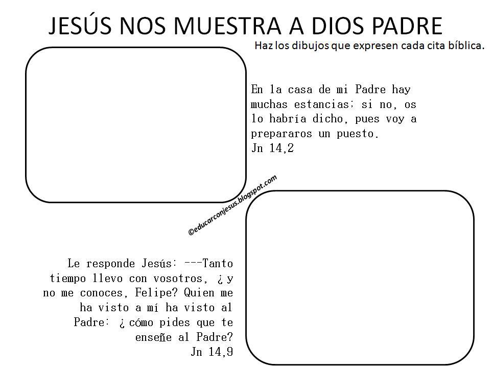 Educar con Jess Jess habla de Dios y del cielo Jn 14112