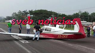 Avioneta falla su aterrizaje en aeropista de Córdoba Veracruz