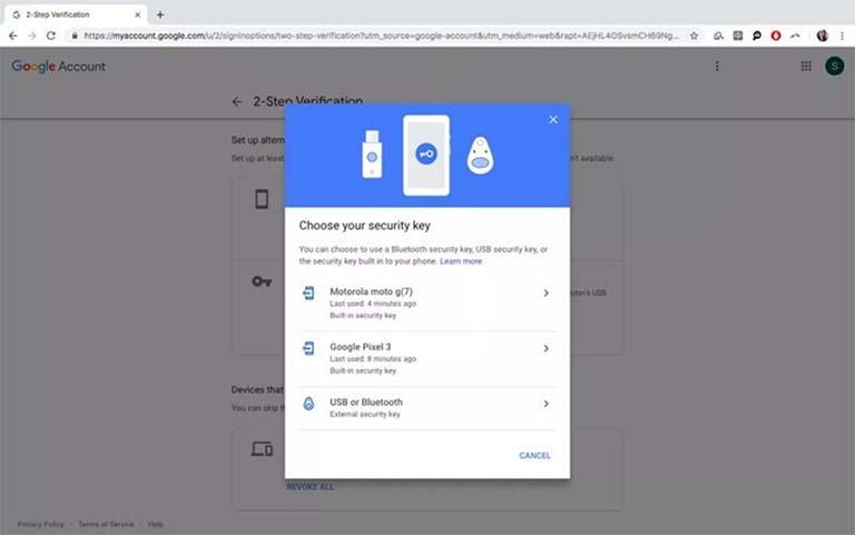 Kini Ponsel Android Bisa Menjadi Kunci Fisik Untuk Login Ke Google