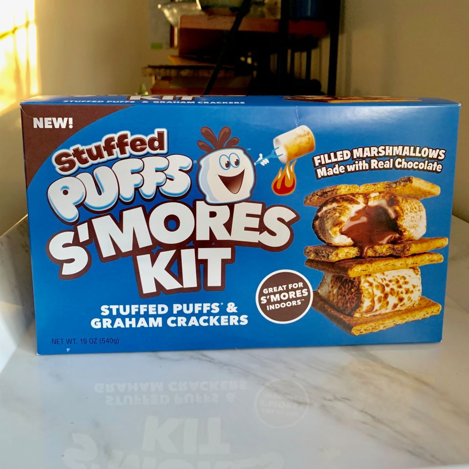 New Stuffed Puffs S'mores Kit #ad
