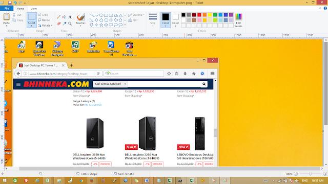Cara Cepat Screenshot dengan Tombol PrtSc SysRq