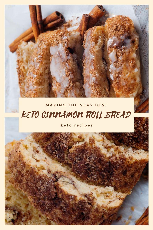 KETO CINNAMON ROLL BREAD