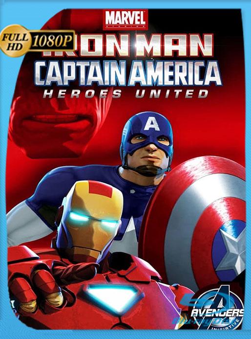 Iron Man & Capitán América: Héroes Unidos (2014) WEB-DL FULL 1080p Latino  [Google Drive] Tomyly