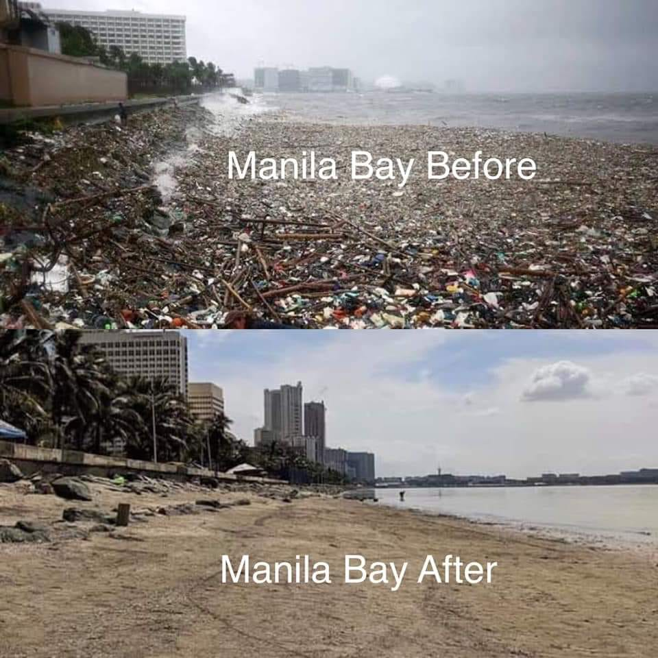 The Most Popular Lists: Manila Bay: Before & After Duterte
