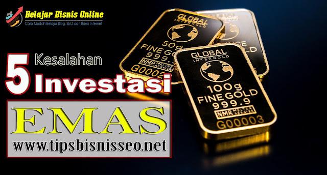 Investasi Emas yang Wajib Diketahui