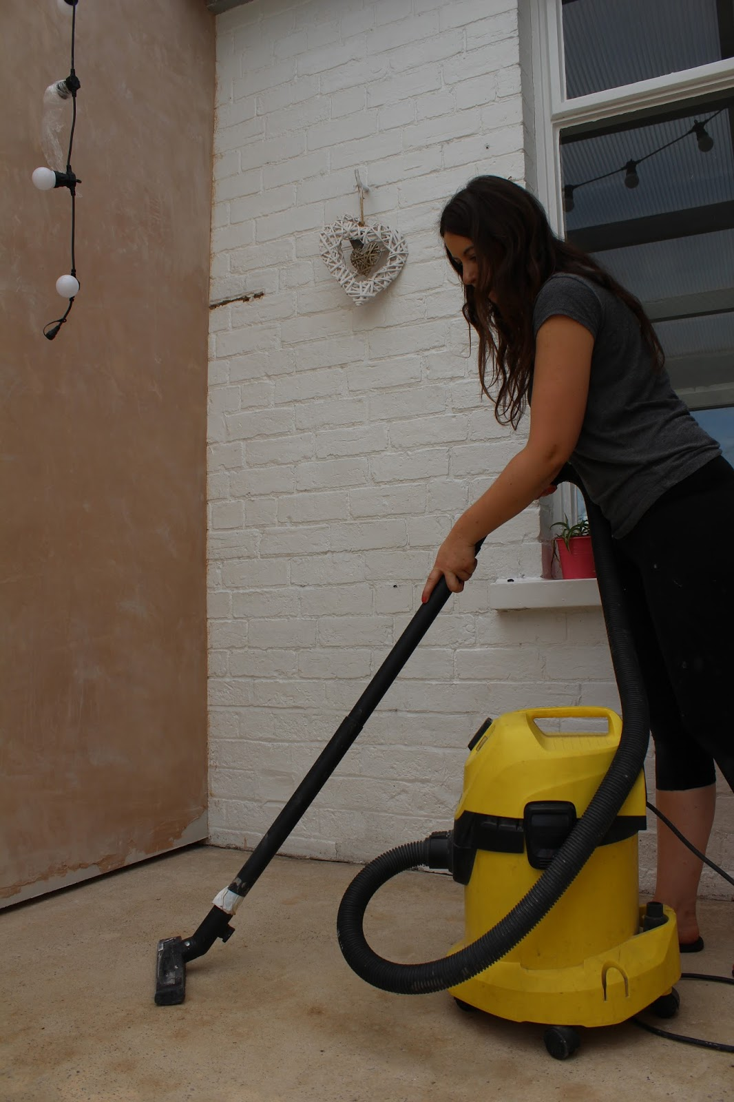 how to prepare concrete for painting