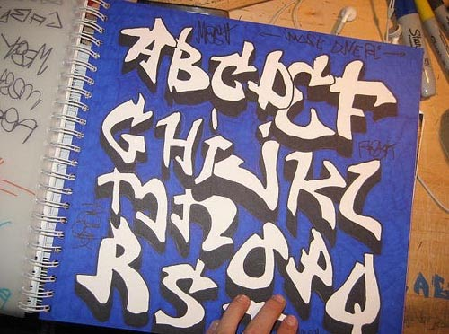 Graffiti creator font old school