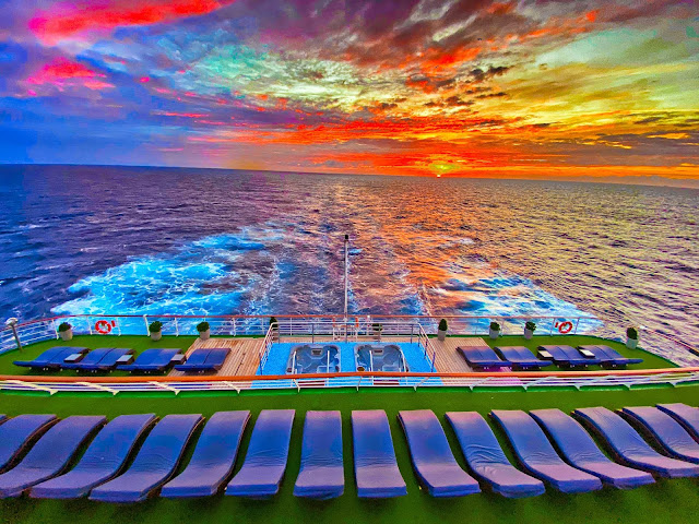 What to do on a cruise sea day Cruise and Maritime Voyages MV Columbus