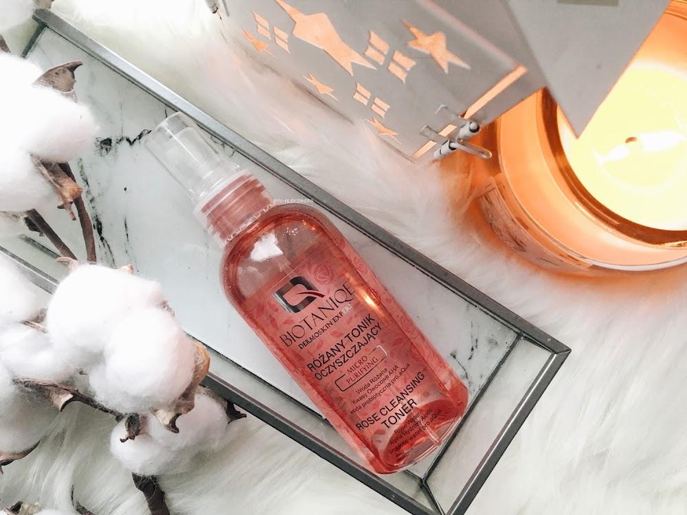 Biotaniqe Dermoskin Expert - Różany tonik oczyszczający