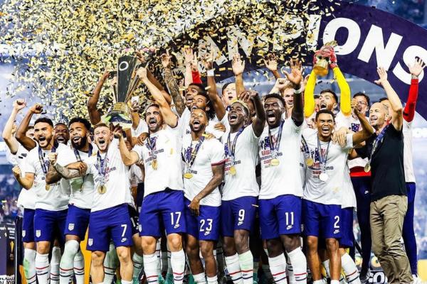 Amerika Serikat Juara Piala Emas Concacaf 2021