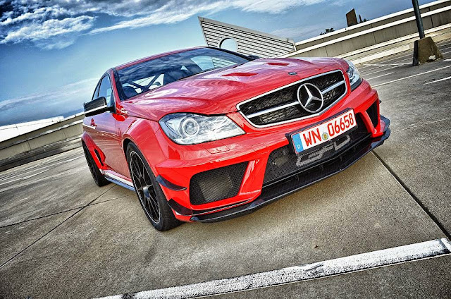 c63 amg coupe black series