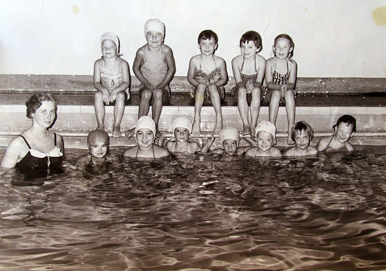 Vintage Nude Swimming