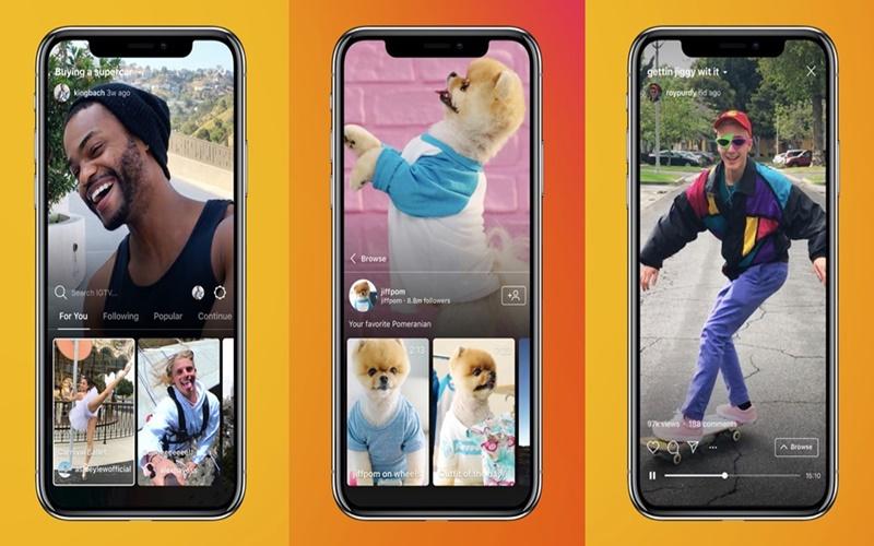 Instagram'dan Mobil Video Platformu