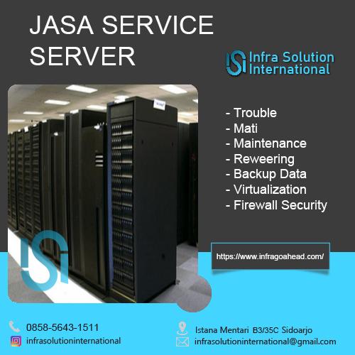 Jasa Service Server Mamuju