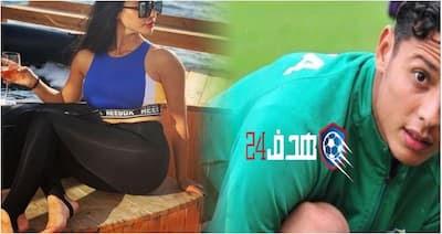 """إعلامية """"لبنانية"""" تتثير الجدل بتصريح حول اللاعب الرجاوي و هي ترتدي لباس جد مثير و جماهير الرجاء """"يقشبون""""+ فيديو"""