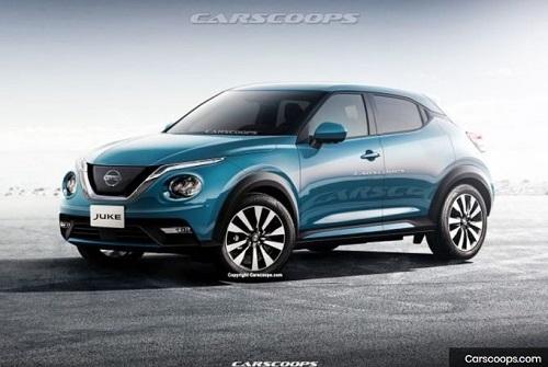 Desain buritan Nissan Juke baru Carscoops.com