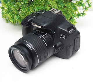 Jual Canon Eos 650D Kamera Bekas