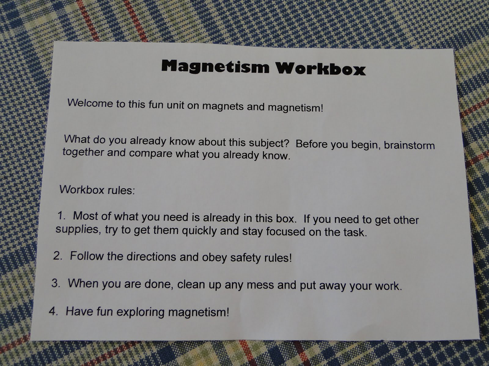 Karmamatopoeia Magnetism Workbox