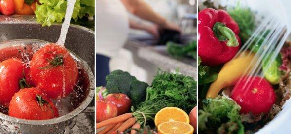 Cel mai indicat mod de a spala fructele si legumele